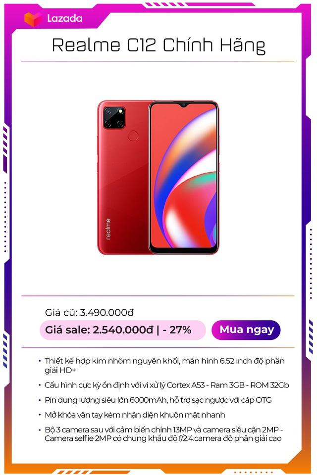 """Top 9 mẫu smartphone off 50% """"nóng hổi"""", duy nhất trong Lễ hội mua sắm lớn nhất hè của Lazada - Ảnh 7."""