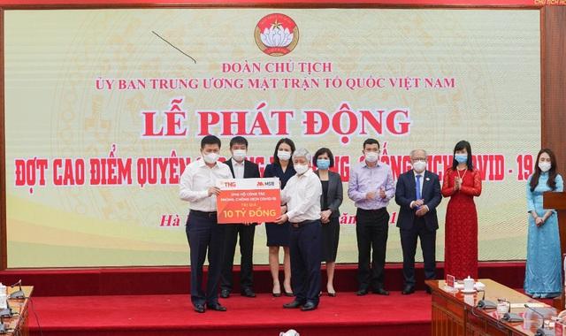 TNG Holdings Vietnam & Ngân hàng MSB ủng hộ gần 50 tỷ phòng chống dịch Covid-19 - Ảnh 1.