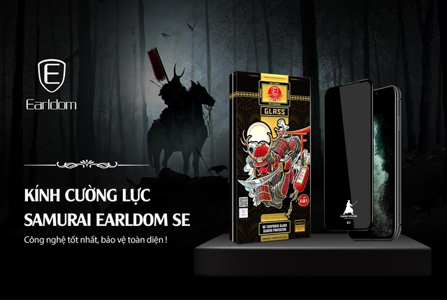 Earldom Việt Nam ra mắt sản phẩm kính cường lực bảo vệ điện thoại và bảo vệ đôi mắt cho người sử dụng smartphone - Ảnh 1.