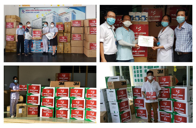 Nam Long ủng hộ 12 tỷ đồng hỗ trợ tiếp sức cộng đồng vượt đại dịch Covid-19 - Ảnh 1.
