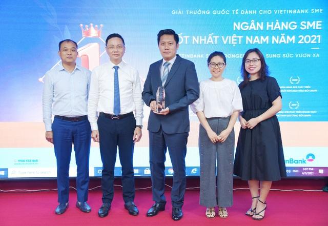 VietinBank hai lần đạt Giải thưởng Ngân hàng SME tốt nhất Việt Nam - Ảnh 2.