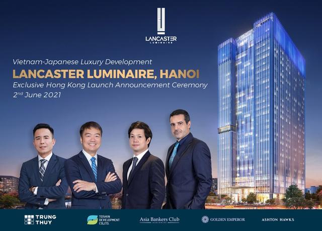 Dự án Lancaster Luminaire thành công khi ra mắt thị trường Hong Kong - Ảnh 1.