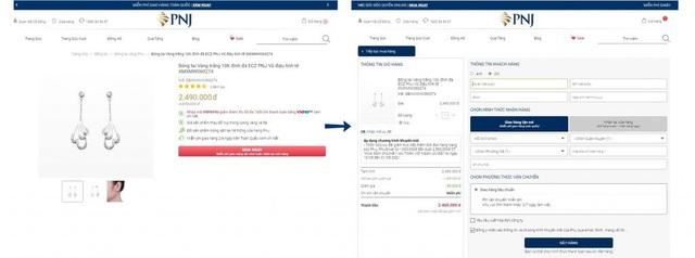 PNJ đẩy mạnh triển khai dịch vụ online siêu tiện lợi cho khách hàng - Ảnh 1.