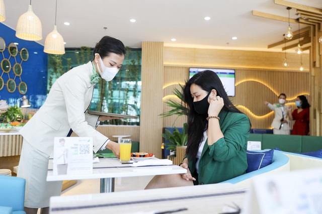 Bamboo Airways chính thức khai trương Phòng chờ Thương gia tại Quy Nhơn - Ảnh 4.