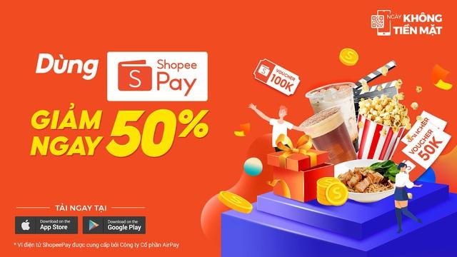 Từ hôm nay, hãy gọi ví AirPay là ShopeePay và đừng bỏ lỡ cơn mưa quà tặng - ảnh 3
