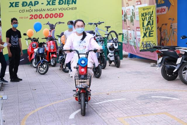 Choáng với đại siêu thị xe đạp, xe điện khủng chính thức khai trương tại đường Đồng Khởi, Biên Hòa. - Ảnh 3.