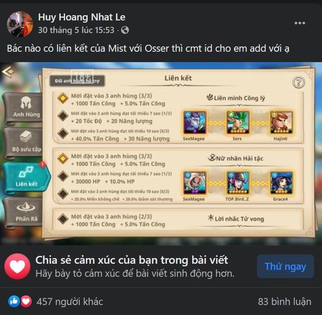 Game thủ Việt với Summoner Era: Ủng hộ là một, yêu thích là mười, 6 tháng vẫn không hề giảm nhiệt - Ảnh 6.