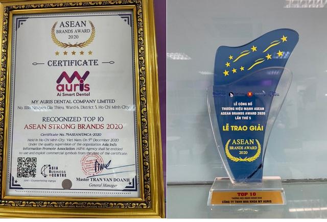 My Auris - Thương hiệu nha khoa đạt top 10 thương hiệu mạnh ASEAN 2020 - Ảnh 3.