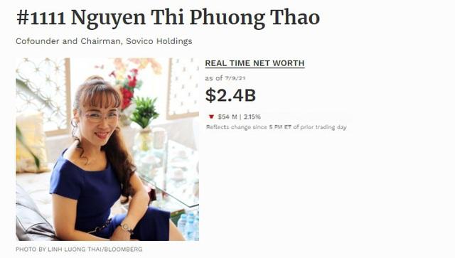 Nữ doanh nhân trở thành tỷ phú số 1111 thế giới trên bảng xếp hạng Forbes - Ảnh 2.