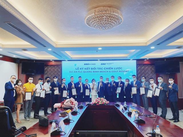 FLC Quảng Bình ký kết hợp tác bước vào giai đoạn phát triển mới - Ảnh 1.