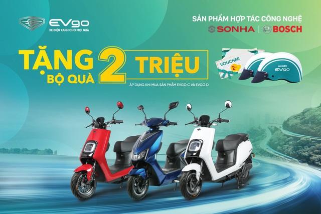 Khai trương EVgo Center: Sơn Hà chung tay phát triển xe máy điện tại Việt Nam - Ảnh 2.