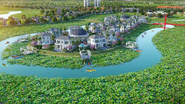 Khu biệt thự Kim Liên, dự án Wyndham Vườn Vua Thanh Thủy