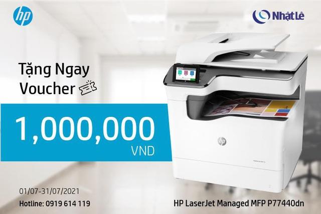 HP Pagewide MFP P77440dn - Máy in đa chức năng lý tưởng cho doanh nghiệp - Ảnh 3.