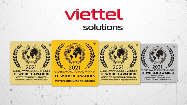 Viettel Solutions đạt giải cao nhất tại IT World Awards 2021 - Ảnh 1.