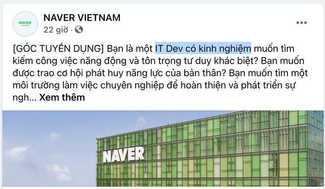 Sau 2 phòng nghiên cứu, Naver chính thức mở trung tâm công nghệ đầu não tại Việt Nam - Ảnh 3.