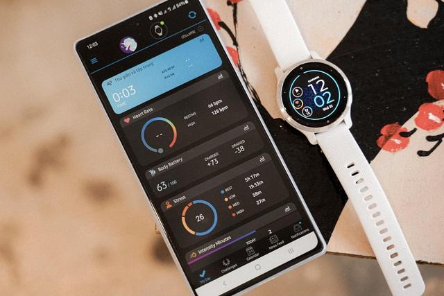 Garmin Venu 2S: Lựa chọn đúng đắn nâng cấp chất lượng cuộc sống - vừa theo dõi sức khoẻ, vừa tập luyện thể thao - Ảnh 10.