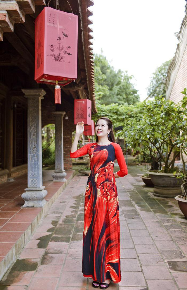 Đỗ Tiến Vũ: Trang phục truyền thống tôn vinh nét đẹp phụ nữ Việt - Ảnh 1.
