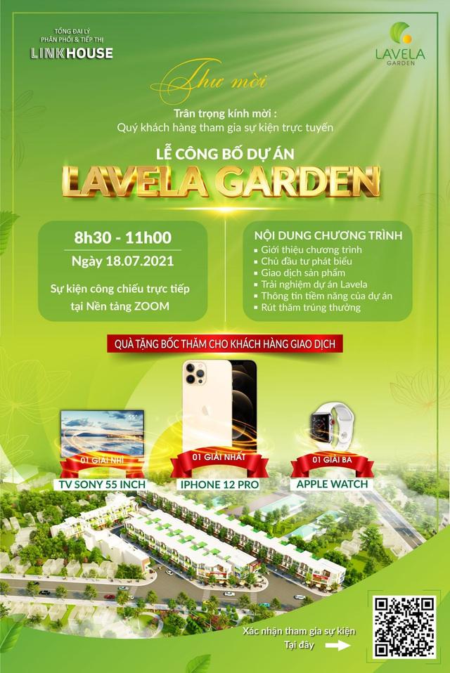 LINKHOUSE tổ chức Lễ Công bố dự án Lavela Garden cùng nhiều chương trình hấp dẫn - Ảnh 1.