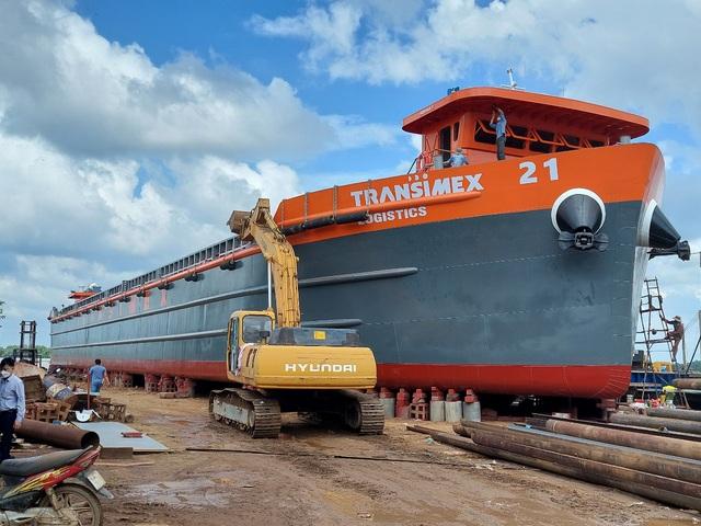 Transimex khai trương tàu Transimex 21 (200 Teus) - Ảnh 1.