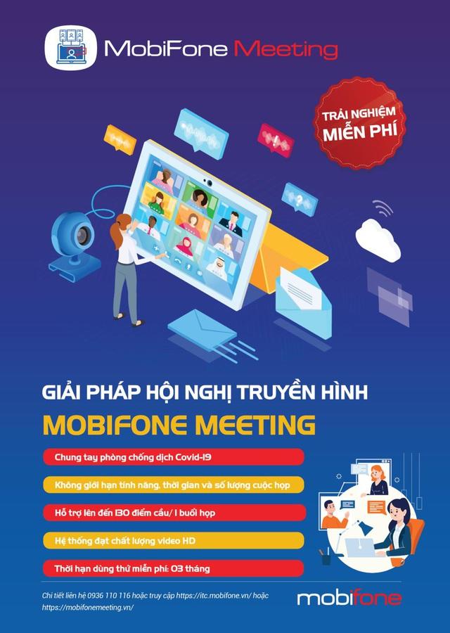 MobiFone Meeting - Giải pháp họp trực tuyến tiện ích trong thời đại công nghệ số - Ảnh 1.