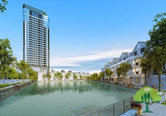 Khuôn viên hồ điều hòa 7000 m2 ngay trong dự án FLC Garden City