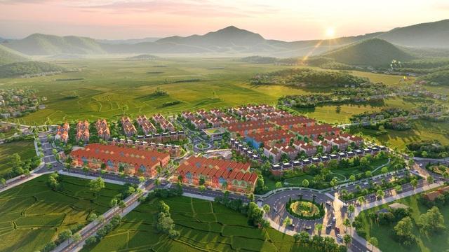 Phối cảnh tổng thể dự án La Viena Valley
