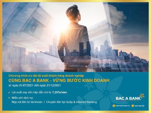 Bac A Bank đồng hành cùng doanh nghiệp vững bước kinh doanh - Ảnh 1.