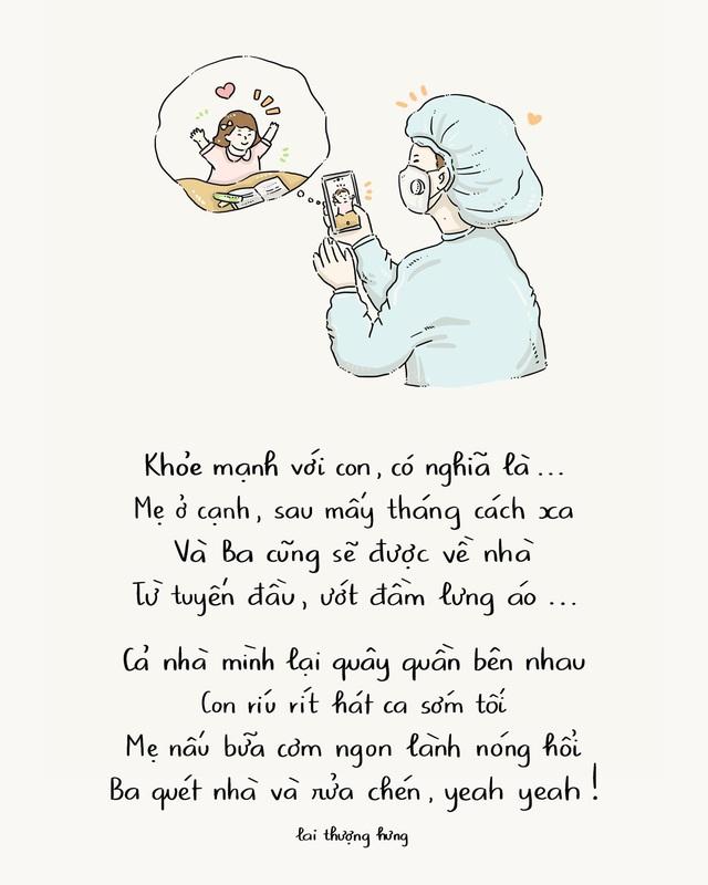 Ấn tượng với bộ tranh thơ truyền cảm hứng về lối sống khỏe mạnh trong mùa dịch - Ảnh 3.