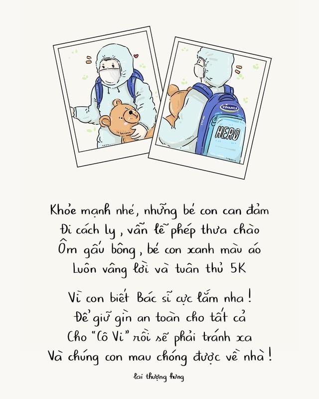 Ấn tượng với bộ tranh thơ truyền cảm hứng về lối sống khỏe mạnh trong mùa dịch - Ảnh 5.