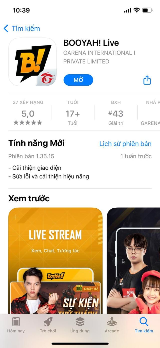 Hướng dẫn sử dụng Booyah! live - Nền tảng phát trực tuyến mới dành cho game thủ Việt - Ảnh 1.