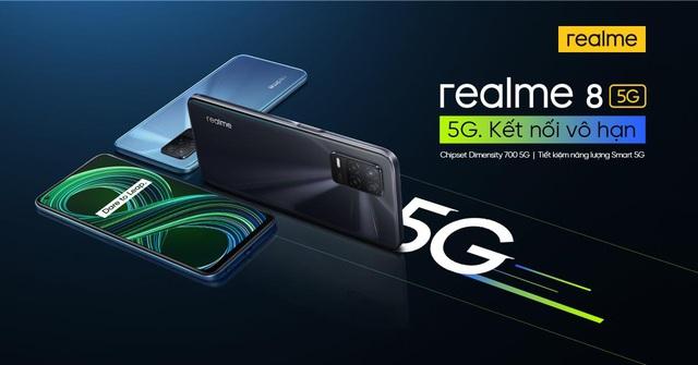 realme trình làng sản phẩm 5G đầu tiên - Ảnh 1.