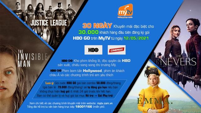 Top phim điện ảnh và series phim đáng xem nhất của HBO GO trên Truyền hình MyTV - Ảnh 5.
