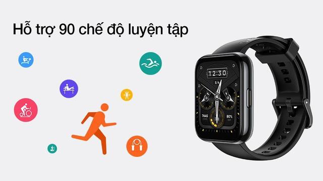 realme 2 Watch series - thế hệ đồng hồ thông minh cho giới trẻ gen Z đam mê thể thao - Ảnh 1.