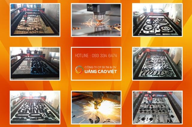Xưởng CNC Laser Quảng Cáo Việt giúp công trình của bạn nghệ thuật hơn - Ảnh 1.