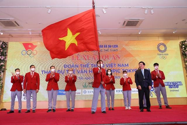 Herbalife đồng hành tổ chức Lễ xuất quân Đoàn thể thao Việt Nam tham dự Olympic Tokyo 2020 - Ảnh 1.