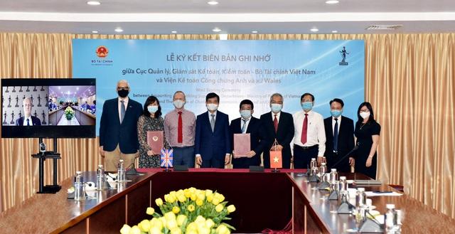 ICAEW hợp tác với Bộ tài chính để nâng cao chất lượng kế toán, kiểm toán - Ảnh 1.