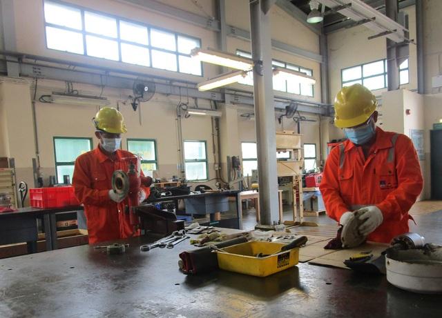 Công ty Đường ống Khí Nam Côn Sơn thực hiện công tác phòng chống dịch bệnh nghiêm ngặt và lạc quan - Ảnh 1.