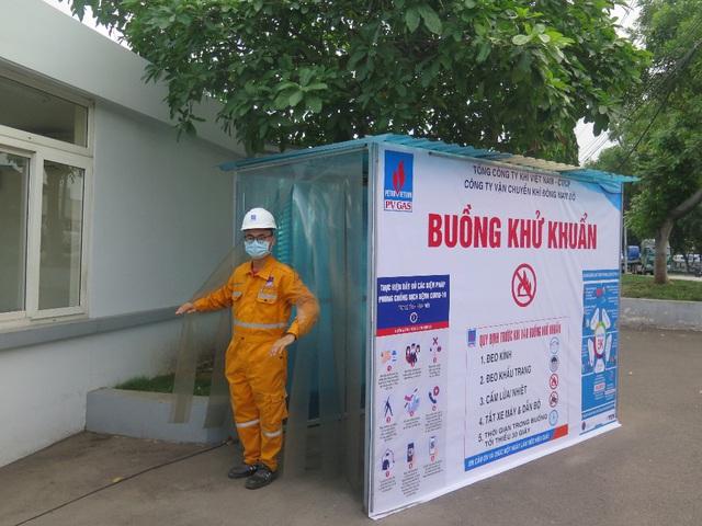 Công ty Vận chuyển Khí Đông Nam bộ triển khai nhiều biện pháp phòng chống dịch Covid-19 - Ảnh 1.