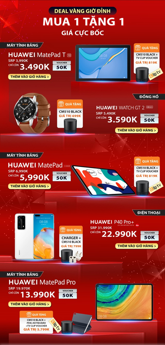 Huawei cùng Lazada mở siêu phẩm sale hè: 1 ngày ưu đãi toàn gian hàng, quà 700k cho đơn từ 3 triệu và chính thức mang Huawei Matebook D 15 về Việt Nam - Ảnh 2.