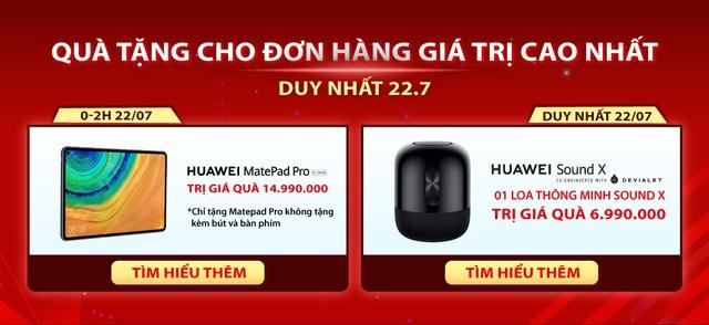 Huawei cùng Lazada mở siêu phẩm sale hè: 1 ngày ưu đãi toàn gian hàng, quà 700k cho đơn từ 3 triệu và chính thức mang Huawei Matebook D 15 về Việt Nam - Ảnh 3.