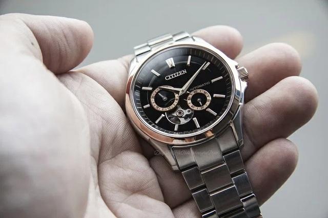 Tưởng đồng hồ Citizen cơ lộ máy có gì hay, hoá ra là vậy - Ảnh 4.