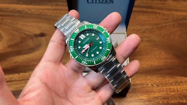 5 mẫu đồng hồ Citizen dạ quang cực đẹp, đang được săn lùng - Ảnh 4.