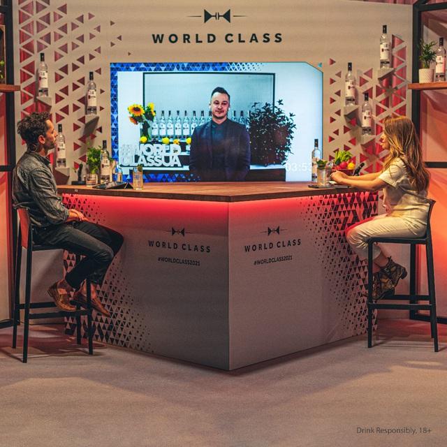 Có gì độc đáo tại chung kết thế giới cuộc thi bartender World Class 2021? - ảnh 1