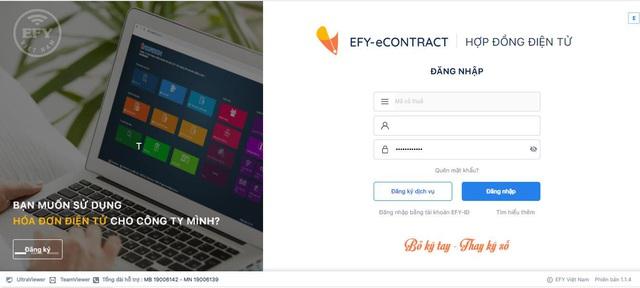 Ứng dụng Hợp đồng điện tử EFY-eCONTRACT trong đại dịch - Ảnh 2.