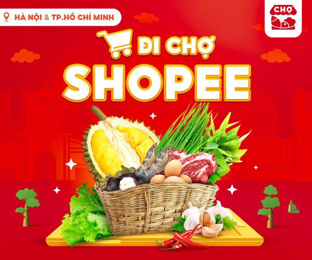 """""""Đi chợ Shopee"""": Lựa chọn mới để mua thực phẩm, nhu yếu phẩm mùa giãn cách - Ảnh 3."""