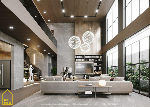 SBS HOUSE - Thiết kế và thi công nhà phố, biệt thự uy tín - Ảnh 4.