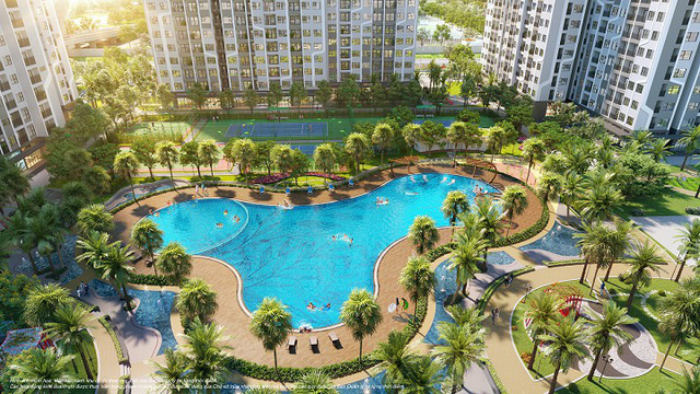 """Khám phá đặc quyền nghỉ dưỡng đậm """"chất"""" Mỹ tại dự án The Miami phía Tây Hà Nội - Ảnh 1."""