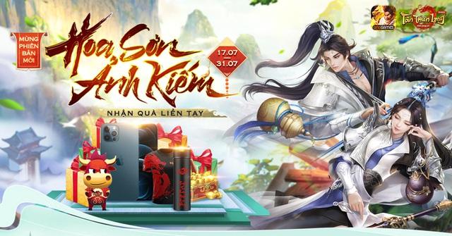 Tân Thiên Long Mobile VNG khuấy động mùa hè với phiên bản Hoa Sơn Ảnh Kiếm - Ảnh 5.