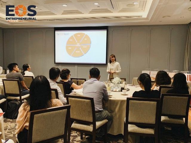 Mô hình vận hành doanh nghiệp EOS chính thức được nhượng quyền tại Việt Nam - Ảnh 4.