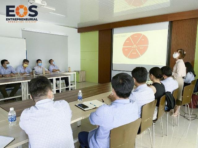 Mô hình vận hành doanh nghiệp EOS chính thức được nhượng quyền tại Việt Nam - Ảnh 1.